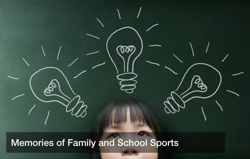 Memories of Family and School Sports
